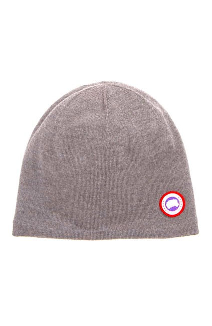 Item - Heather Grey with Tag Standard Wool Blend Beanie Hat
