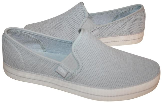 UGG Australia Gray Bren Perforated Sneakers Size US 7.5 Regular (M, B) UGG Australia Gray Bren Perforated Sneakers Size US 7.5 Regular (M, B) Image 1