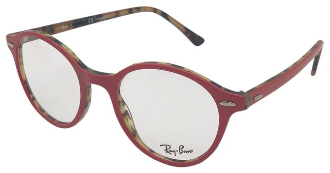 Item - Bordeaux/Green Havana/Red Rx4354v 5904 Unisex Sunglasses