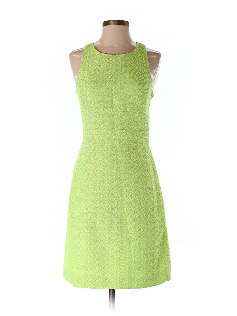 Item - Light Green Fit & Flare A-line Mid-length Short Casual Dress Size 0 (XS)