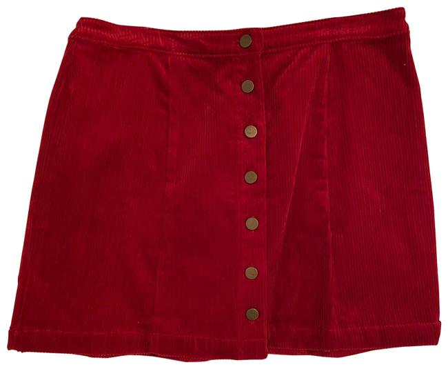 Item - Red Corduroy With Skirt Size 12 (L, 32, 33)
