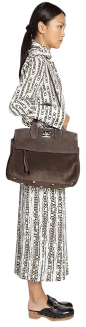 Item - New with Suede Gray Cross Body Bag