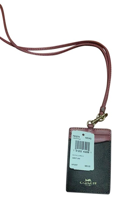 Item - Pink Leather Lanyard