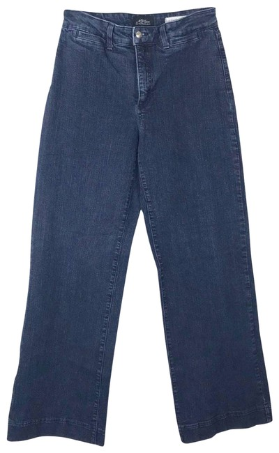 Item - Blue Not Your Daughters 70s Highrise #703 Trouser/Wide Leg Jeans Size 34 (12, L)
