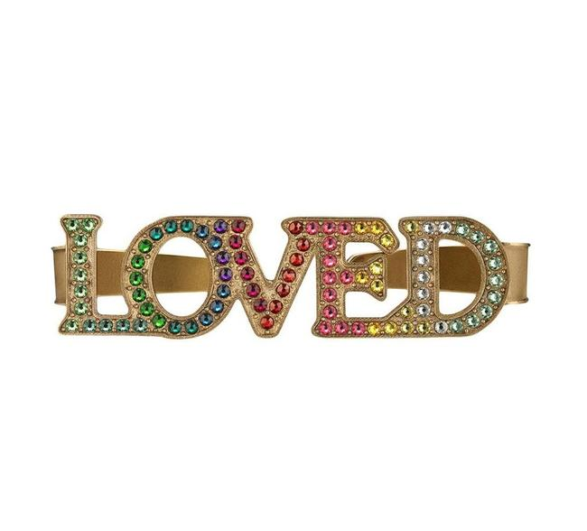 Item - Multicolor Loved Palm Cuff Ring