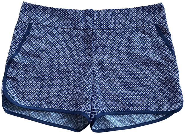 Item - Multicolor Geometric Patterned Casual Polyester Shorts Size 12 (L, 32, 33)