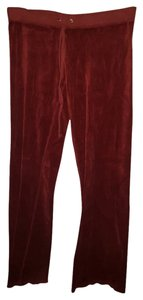 Juicy Couture Athletic Pants Red