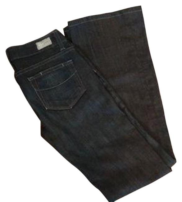 Item - Blue Dark Rinse Laurel Canyon Trouser/Wide Leg Jeans Size 25 (2, XS)