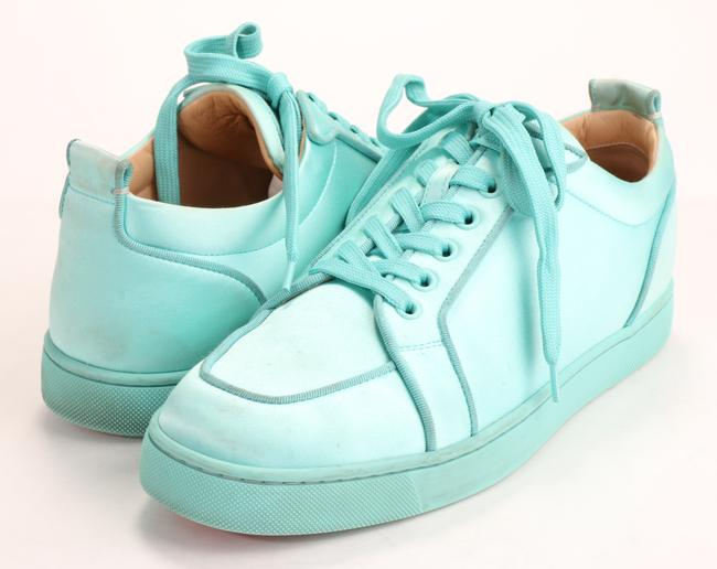 Christian Louboutin Teal Rantulow Orlato Shoes Christian Louboutin Teal Rantulow Orlato Shoes Image 1