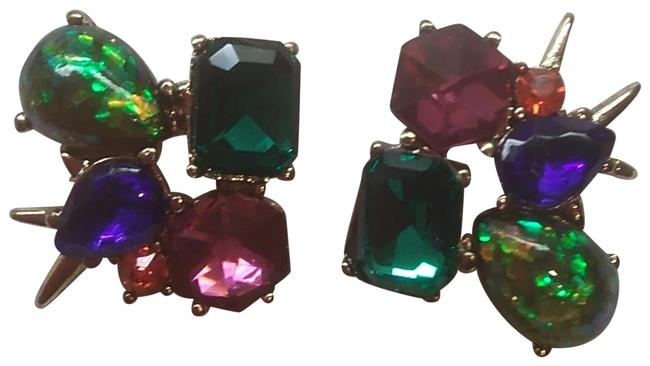 Item - Magenta New Abstract Earrings