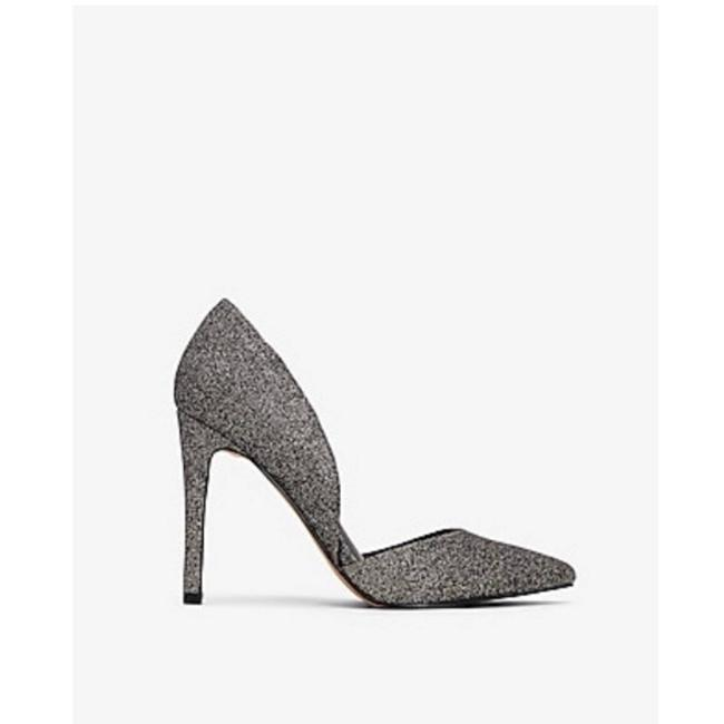 Item - Gray Nwob Two-piece Pointed Pumps Size US 8.5 Regular (M, B)