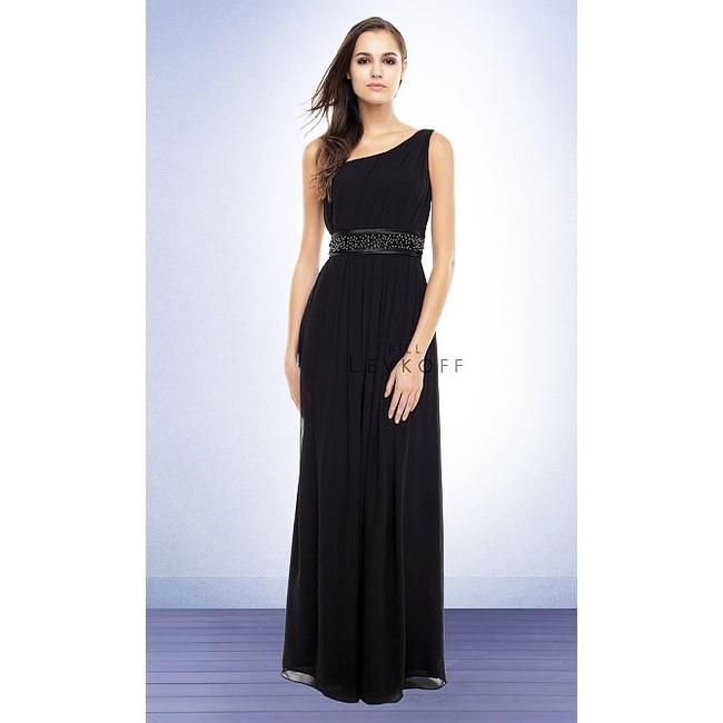 Item - Black Polyester Formal Bridesmaid/Mob Dress Size 10 (M)