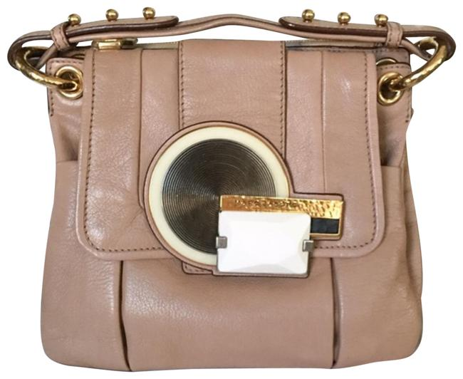 Item - Rare Runway Collection Made In Italy Taupe Leather Hobo Bag