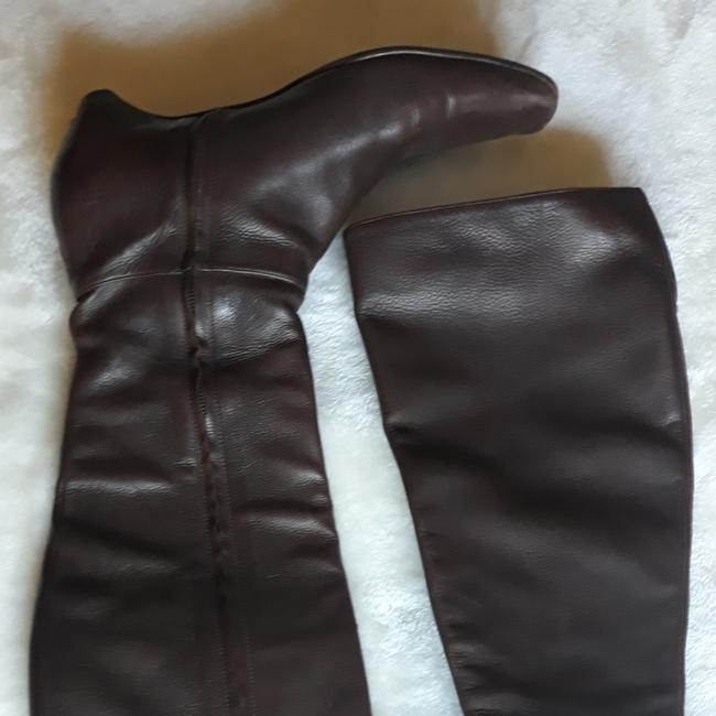 Item - Brown Leather Boots/Booties Size EU 37.5 (Approx. US 7.5) Regular (M, B)