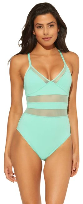 Item - Turqs & Caicos Don't Mesh with Me One-piece Bathing Suit Size 8 (M)