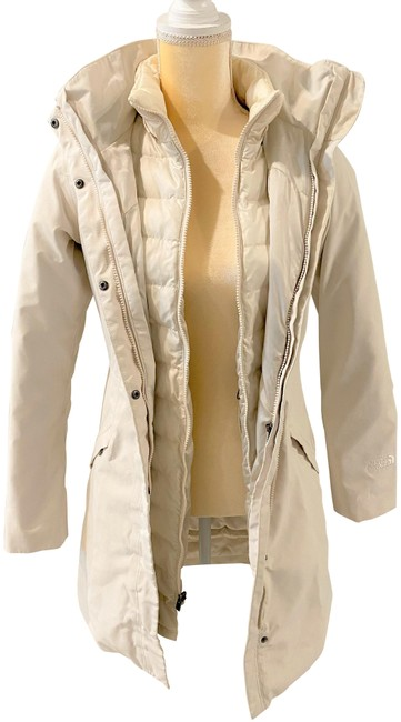 Item - Ivory Down Triclimate Coat Size 2 (XS)