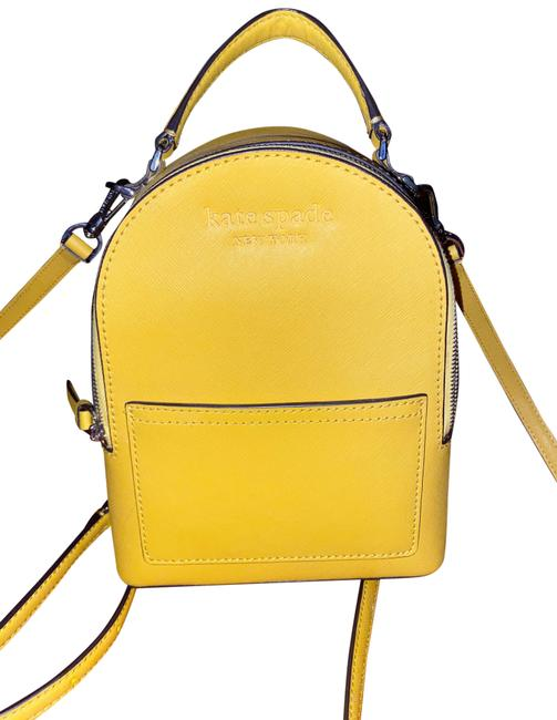 Item - Mini Yellow Leather Backpack