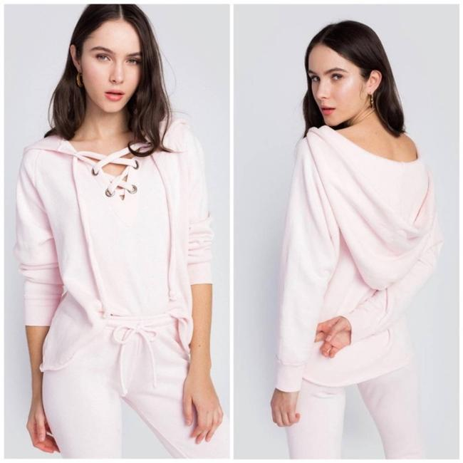 Item - Pink Hutton Lace In Sweatshirt/Hoodie Size 4 (S)