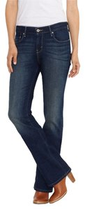 LEVI 515 BOOT CUT NEW JEANS 6 M Boot Cut Jeans-Dark Rinse