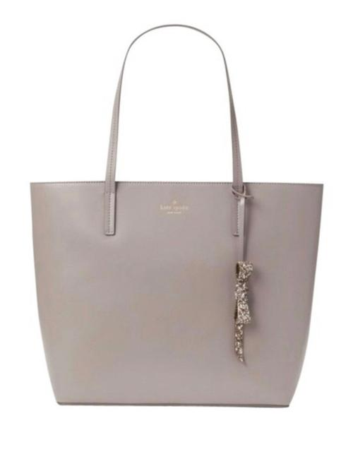 Item - Karla Cityscape Grey Leather Tote