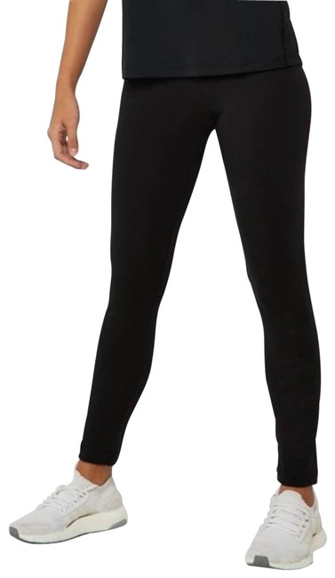 Item - Black Essential Linear Tights Solid Activewear Bottoms Size 4 (S, 27)