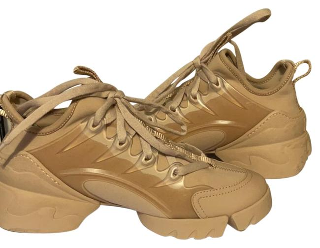 Item - Nude D-connect Sneakers Size EU 34.5 (Approx. US 4.5) Narrow (Aa, N)