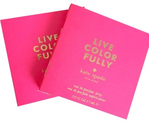 Kate Spade KATE SPADE - LIVE COLORFULLY - EAU DE PARFUM SAMPLES - SET OF 2