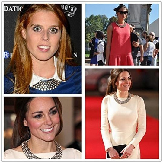 Fun Daisy Fun Daisy Grand UK Princess Kate Middleton Hot Fashion Necklace