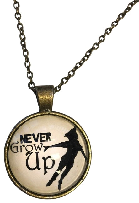 Item - Brown Peter Pan Bronze Necklace