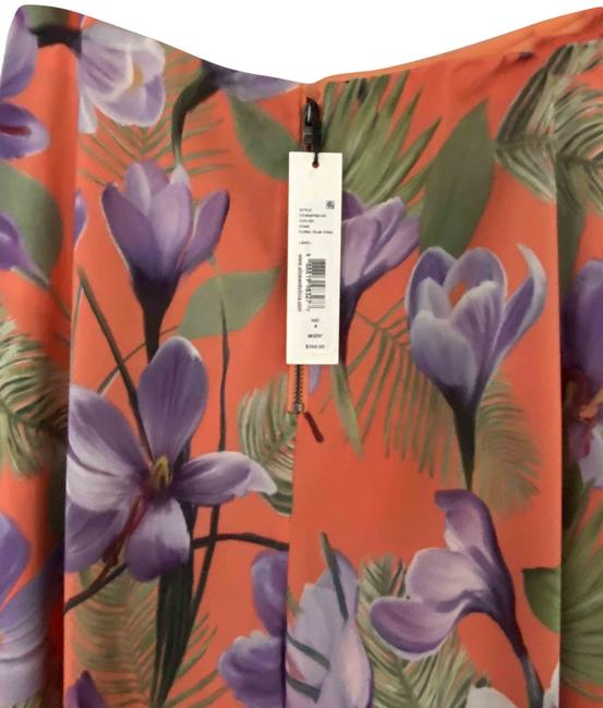 Item - Orange Lavender Green Black Floral Pants Size 4 (S, 27)