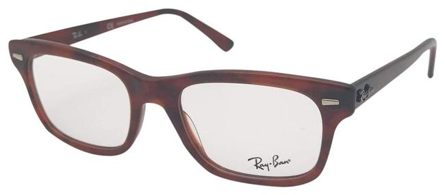 Item - Havana/Opal Red/Brown Rx5383 5945 Unisex Sunglasses