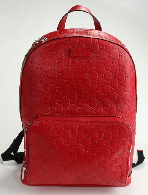 Item - Red GG Supreme Backpack Men's Jewelry/Accessory