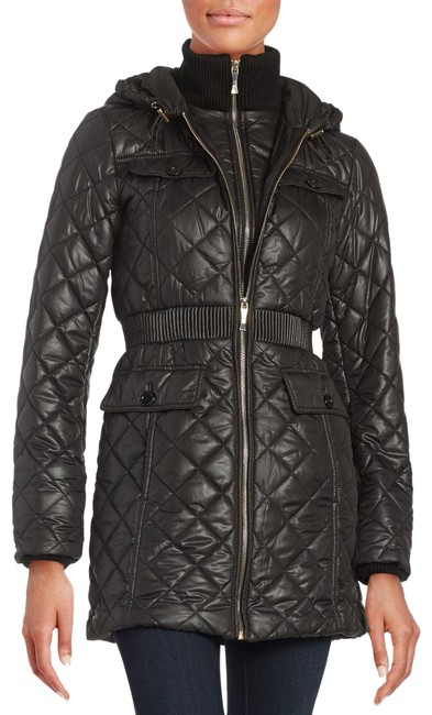 Item - Black Packable Quilted Winter / Coat Size 6 (S)