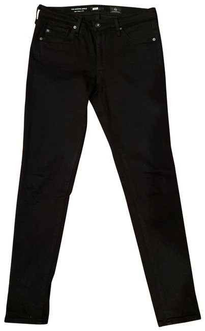 Item - Black Dark Rinse Super Ankle Skinny Jeans Size 2 (XS, 26)