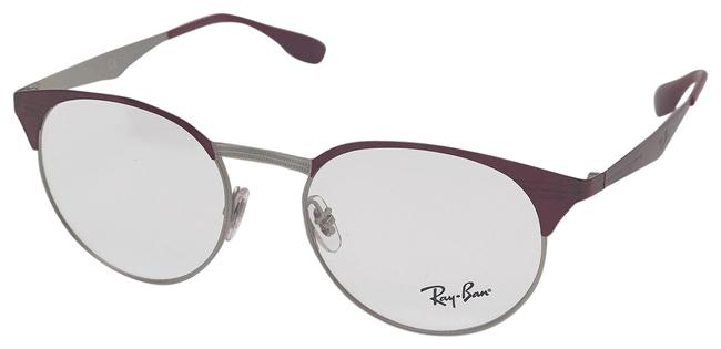 Item - Silver/Red Rx6406 3024 Unisex Sunglasses