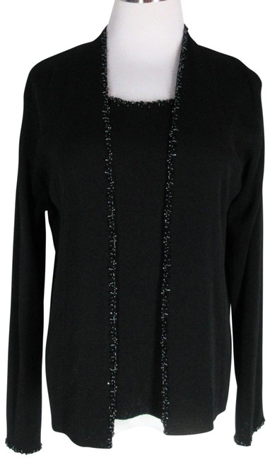 Item - Twinset Beaded Black Sweater