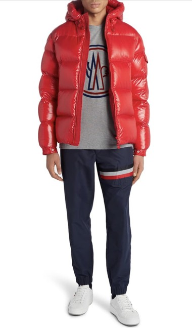 Item - Red Ecrins Hooded Down Puffer Jacket In Coat Size 8 (M)