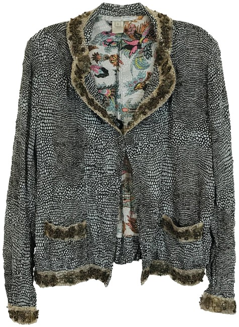 Item - Multicolor Vintage Beaded Accent Cardigan Size 6 (S)