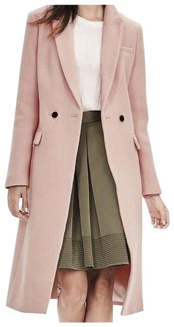 Item - Pink Double Breasted / Wool Coat Size Petite 2 (XS)