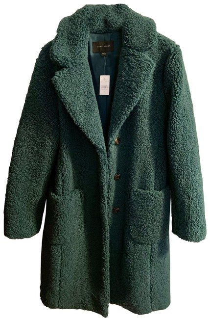 Item - Deep Emerald Teal Teddy Coat Size 4 (S)