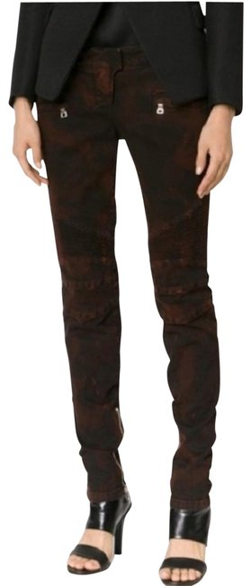 Item - Combination Of Red Distressed Regular Low Rise Skinny Jeans Size 32 (8, M)