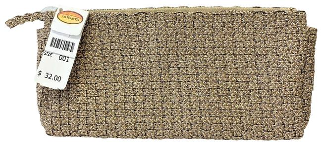 Item - Gold Woven Fabric Clutch