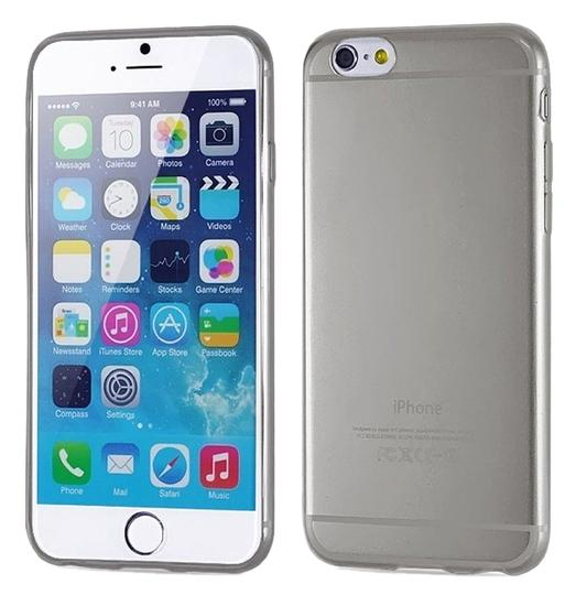"""Other BLACK - IPhone 6 5.5"""" TPU Rubber Gel Ultra Thin Case Cover Transparent Glossy 10 Colors Available"""