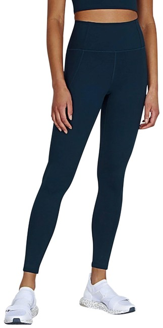 Item - Blue Navy High-rise Compressive Activewear Bottoms Size 0 (XS)