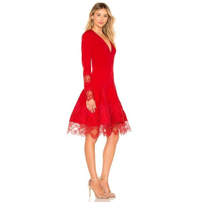 Item - Red Antonia In Cocktail Dress Size 4 (S)