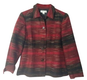 Coldwater Creek Red/Black Jacket