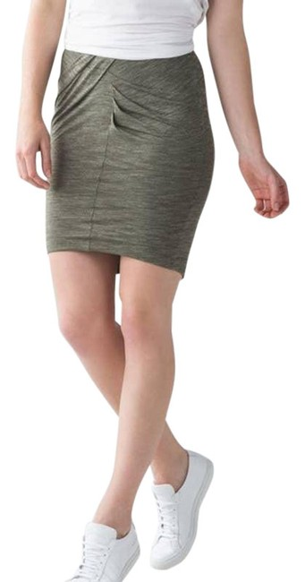 Item - Green Yoga Haven Stretch Med Heathered Athleisure Skirt Size 6 (S, 28)