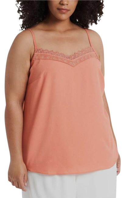 Item - Apricot Lace Trim Camisole Tank Top/Cami Size 20 (Plus 1x)