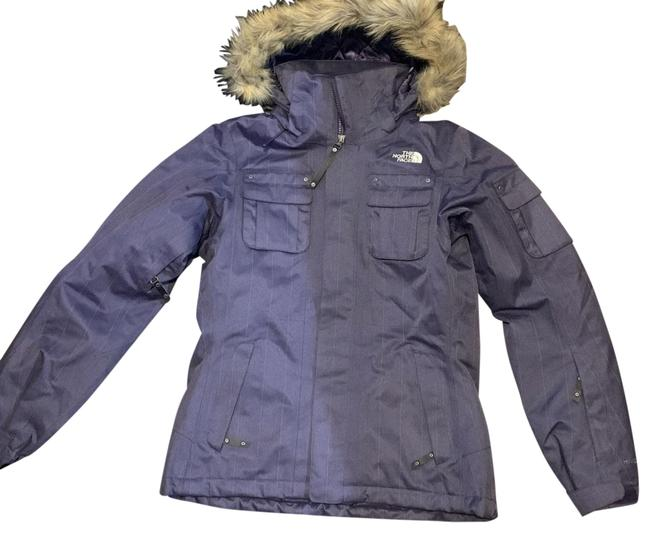 The North Face Purple Coat Size 4 (S) The North Face Purple Coat Size 4 (S) Image 1