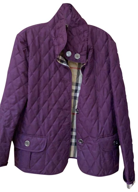 Item - Purple Quilted Jacket Size 16 (XL, Plus 0x)